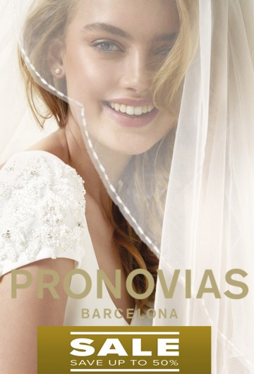 PRONOVIAS 2018 Salon Emma